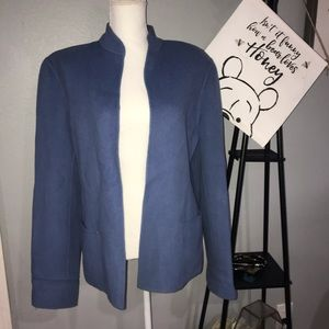 🌵Kate Hill Light Blue Wool blend Coat SZ 16